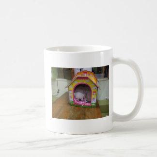 Cute sleeping puppy coffee mugs