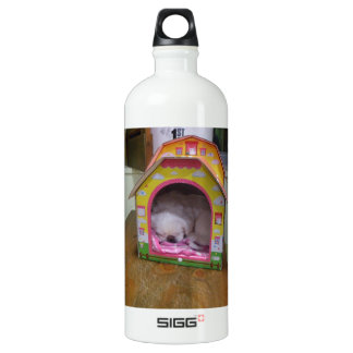 Cute sleeping puppy SIGG traveller 1.0L water bottle