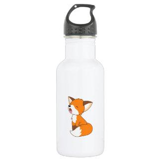 Cute Sleepy Little Fox 532 Ml Water Bottle