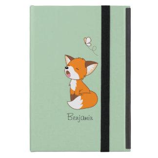 Cute Sleepy Little Fox Case For iPad Mini
