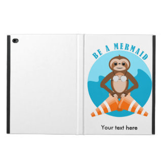Cute Sloth Be a Mermaid Powis iPad Air 2 Case