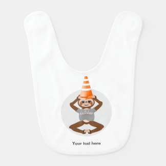 Cute Sloth Be A Unicorn Bib