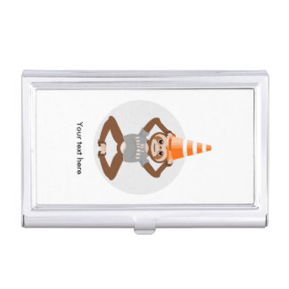 Cute Sloth Be A Unicorn Business Card Holder