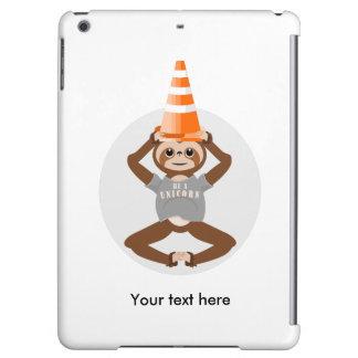 Cute Sloth Be A Unicorn iPad Air Cover