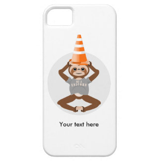 Cute Sloth Be A Unicorn iPhone 5 Cover