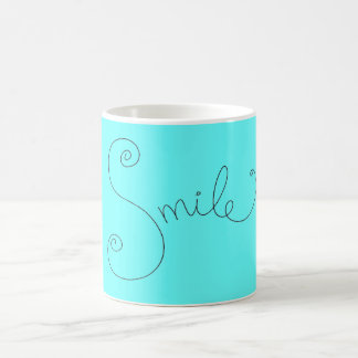 cute smile doodle black white design mugs
