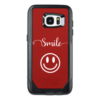 Cute Smile Face Design OtterBox Samsung Galaxy S7 Edge Case