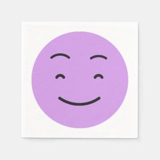 Cute Smiley paper napkins 4/9 Paper Napkin