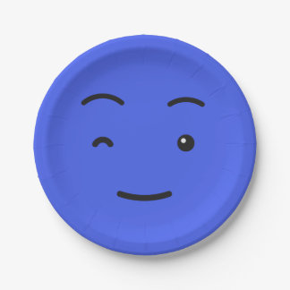 Cute Smiley paper plates 3/9