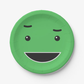 Cute Smiley paper plates 5/9