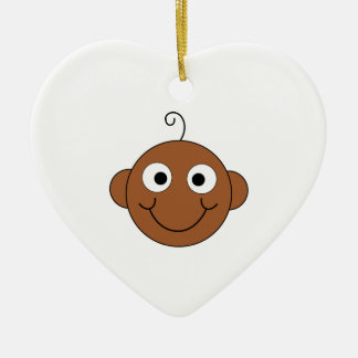 Cute Smiling Baby Ornament