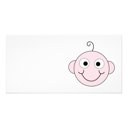 Cute Smiling Baby. Customized Photo Card