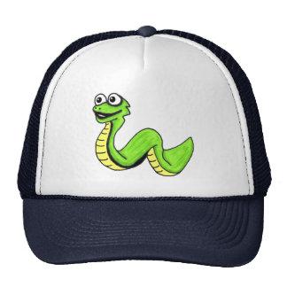 Cute Smiling Cartoon Snake Cap