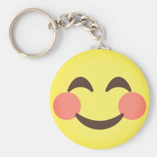 Cute Smiling Emoji Key Ring