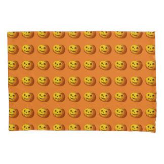 Cute Smiling Jack O Lantern Pumpkin Pillowcase