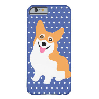 Cute Smiling Pembroke Welsh Corgi Puppy Barely There iPhone 6 Case