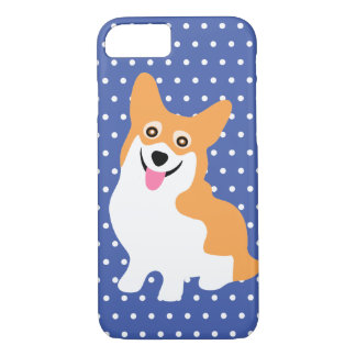Cute Smiling Pembroke Welsh Corgi Puppy iPhone 7 Case
