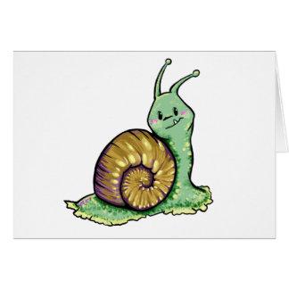 Cute Snail Card
