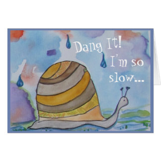 Cute Snail Card