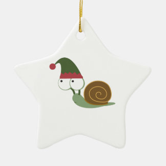 Cute Snail Christmas Elf Ornaments