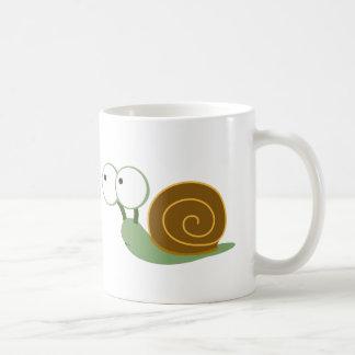 Cute Snail` Coffee Mug