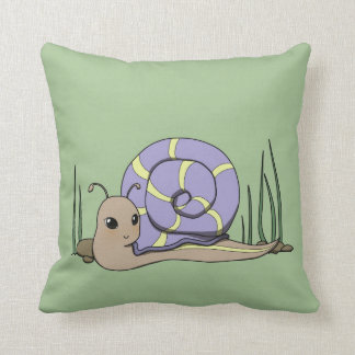 Cute snail cushion