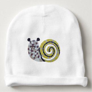 Cute Snail Mosaic Beanie Baby Beanie
