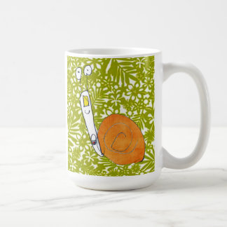 Cute snail mug  by child that makes you smile!