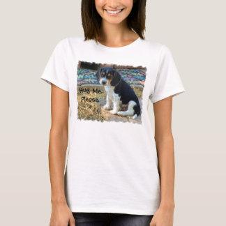 Cute Snoopy Beagle Puppy - Hug MePlease T-Shirt