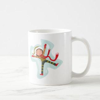 Cute Snow Angel Girl Coffee Mug