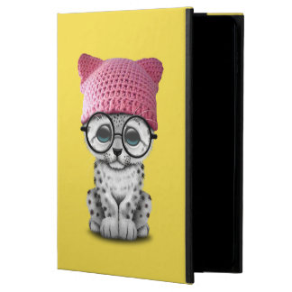 Cute Snow Leopard Cub Wearing Pussy Hat Powis iPad Air 2 Case