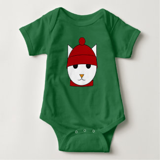 Cute Snowcat Bodysuit