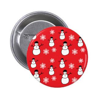 Cute Snowman Buttons