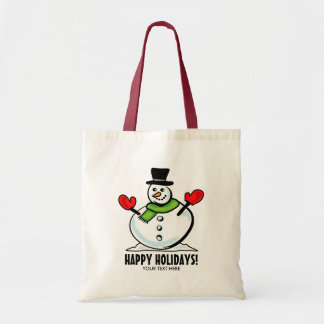 Cute snowman Christmas Holiday party personalized