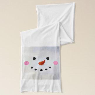 Cute snowman face Scarf