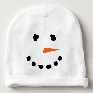 Cute Snowman Face Winter Hat Baby Beanie