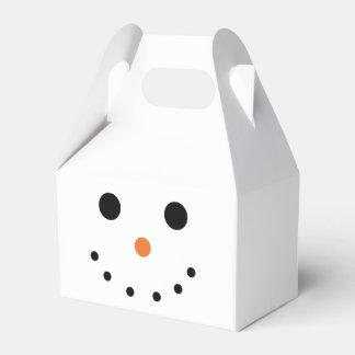 Cute Snowman Favor Box Party Favour Boxes