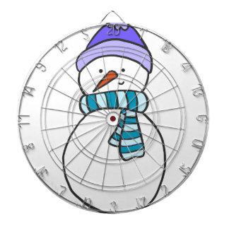 CUTE SNOWMAN / HOLIDAY DARTBOARD