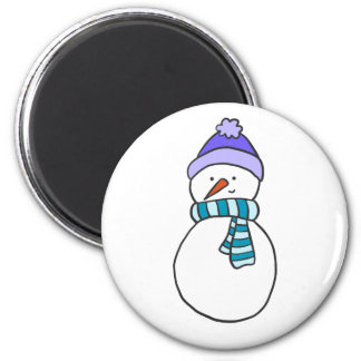 CUTE SNOWMAN / HOLIDAY MAGNET