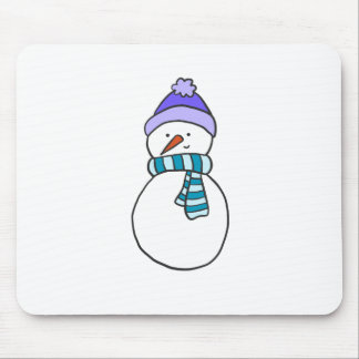 CUTE SNOWMAN / HOLIDAY MOUSE PAD