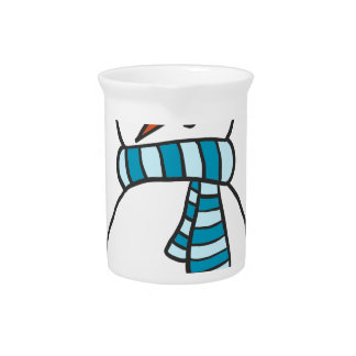 CUTE SNOWMAN / HOLIDAY PITCHER