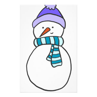 CUTE SNOWMAN / HOLIDAY STATIONERY