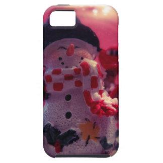 Cute Snowman iPhone 5 Case