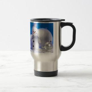 Cute Snowman Coffee Mug