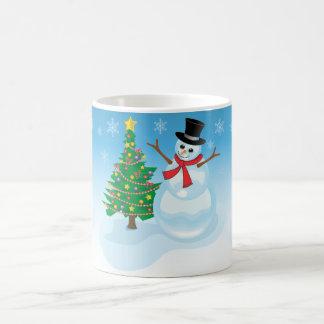 Cute Snowman Coffee Mugs