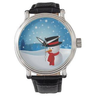 Cute Snowman Watches