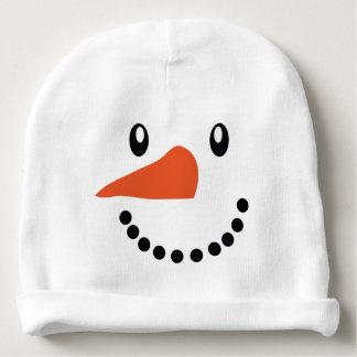 Cute Snowman Xmas Baby Beanie