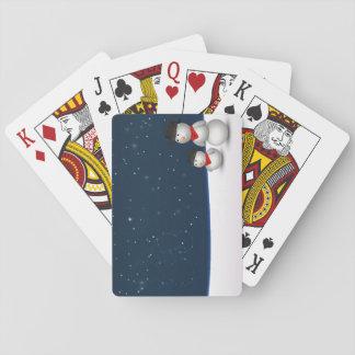 Cute Snowmen Constellation - Card Deck Poker Deck