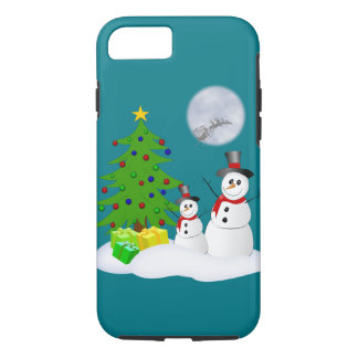 Cute Snowmen iPhone 7 Case