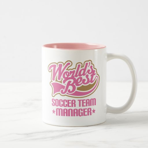 Cute Soccer Team Manager Gift Coffee Mug